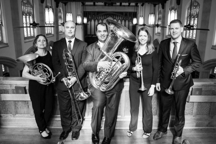 wedding brass quintet Charleston Virtuosi