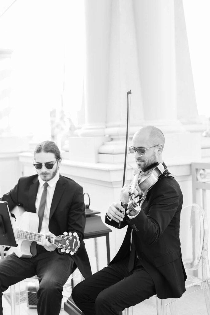 Charleston Virtuosi Wedding Violin and Guitar Duo