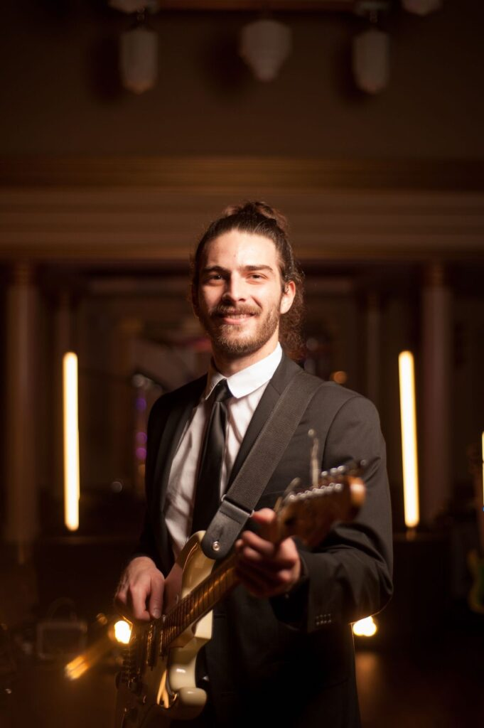 charleston wedding guitarist at America Theater Quentin's Band